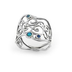 Silver Ring with Opal - catalog