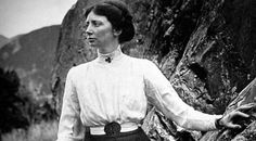 In 1910, Freda du Faur climbed Mount Cook, New Zealand's highest peak, in a record-breaking six hours. She was the first woman to scale the peak, and she did it wearing a skirt! #TEDxceWomen