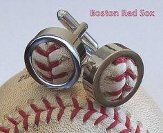Baseball cufflinks; cool