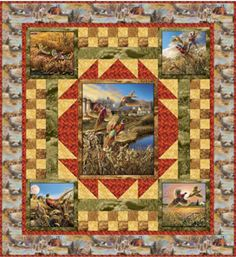 Pheasant Country Quilt Pattern (free)