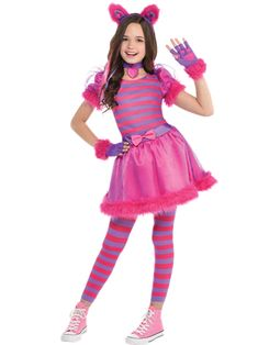 Explore our curious collection of Alice in Wonderland costumes for kids and adults. Shop for your favorite Alice in Wonderland character costumes today. Cheshire Cat Halloween Costume, Halloween Costume Shop, Halloween Costumes For Girls, Alice Halloween, Halloween Halloween, Costumes For Teens, Cat Costumes, Costume Ideas, 1950s Costumes