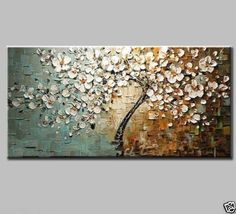 New MODERN ABSTRACT CANVAS ART WALL DECOR OIL PAINTING NO framed #Asian