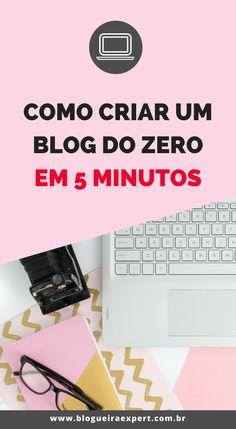 Saiba como criar um blog do zero em cinco minutos com um instalador automático sem demora. Crie um blog profissional, inicie seu negócio online, empreendendo e ganhando dinheiro na internet. #marketingdigital #empreendedorismo