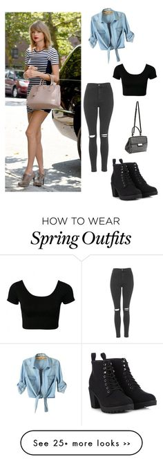 """""""My First Polyvore Outfit"""" by brigittehernandezcornejo on Polyvore"""
