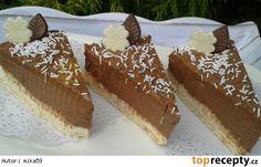 Nepečené čokoládové řezy s tvarohem No Bake Cake, Tiramisu, Cheesecake, Baking, Ethnic Recipes, Food, Cakes, Cake Makers, Cheesecakes
