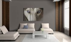 Obraz na plátně - Face to face with fear. Picture Frames, Designers, Canvas Prints, Couch, The Originals, Wood, Face, Painting, Inspiration