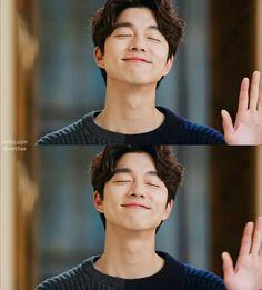 Goblin - Gong Yoo - Guardian: The Lonely and Great God Gong Yoo Smile, Yoo Gong, Gong Li, Asian Actors, Korean Actors, Jikook, Goblin The Lonely And Great God, Kim Young Kwang, J Pop