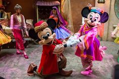 Mickey & Minnie Mouse in Morocco at Epcot