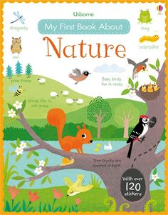 Usborne My First Book About Nature - http://usborneonline.ca/thebookgirls/catalogue/catalogue.aspx?cat=1&area=EY&subcat=EYNF&id=10370