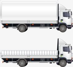 Vector truck PNG and Vector