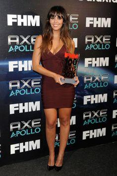La reportera y actriz Cristina Pedroche fue elegida este jueves como la española más sexy del mundo de este año por la revista FHM y la marca de desodorantes masculinos AXE