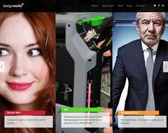19 exemplos inspiradores de texto sobre Imagens em Web Design