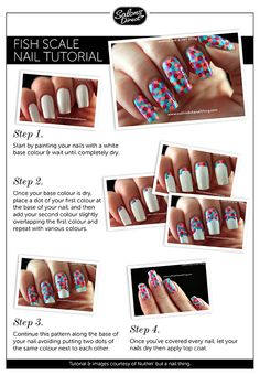 Fish scale Nail Tutorial