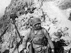 Lieutenant Colonel James Earl Rudder, 2nd Ranger Battalion,  Pointe du Hoc, june 7, 1944.