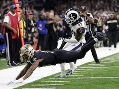 "Blow Job (senryu/haiku duet) ""Reffing no call on - pass interference screws Saints; - puts Rams in The Bowl""; ""Football needs full time - referees like baseball has - full time umpires"" NFL will consider making pass interference calls reviewable, after Rams-Saints gaffe"
