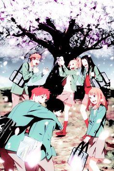 Never forget those moments - Orange ~ DarksideAnime Anime Gifs, All Anime, Orange Anime, Takano Ichigo, Anime Friendship, Summertime Sadness, Kirito, Darling In The Franxx, Anime Couples