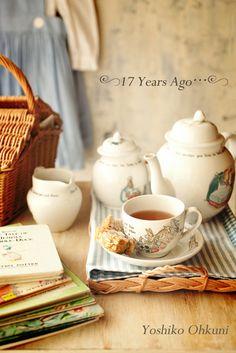 Beatrix Potter Peter Rabbit Tea service.