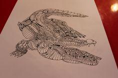 #crocodile #Russia #art #print #design #wear #accessories #handmade #love #illustration #ink #tatoo #style #pen #inkart #draw #shirt