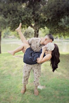 My Marine and I.the world stops when Im in his arms 🤵👰 Military Wedding 🎖️ Soldiers, Army, Navy & ✈️ Air Force 🧡 Love 📷 Photography 📸 Photo Ideas 💡