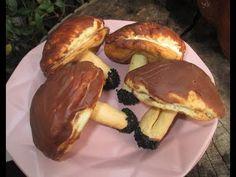 Moje pyszne, łatwe i sprawdzone przepisy :-) : Ciasteczka grzybki z kremem-pyszne +FILM Sausage, Pancakes, Cooking, Breakfast, Recipes, Youtube, Food, Amazing, Biscuits