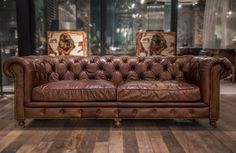 Kensington 3 Seater Sofa. Marina Home Interiors. Color: Antique whisky