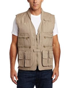 Woolrich Men's Elite Polyester Fleece Tactical Vest