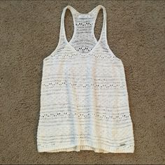 NWOT Gilly Hicks Sweater Tank NWOT Gilly Hicks sweater tank, loose fitting, never worn! 🛍 Bundles: I offer a 15% discount for bundles of 2 or more items! ❌No Trade Gilly Hicks Tops Tank Tops