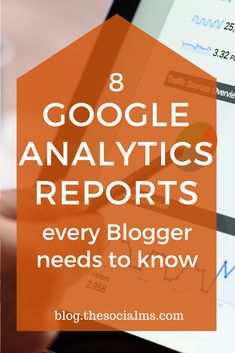 Here are eight Google Analytics reports that can show you critical information to enhance social media marketing efforts. #googleanalytics #blogmetrics #bloganalytics #monitoring #marketingmetrics #bloganalytics #bloggingtips Social Media Tracker, Social Media Analytics, Social Media Marketing, Content Marketing, Google Analytics Report, Google Analytics Dashboard, Sentiment Analysis, Marketing Report, Competitor Analysis