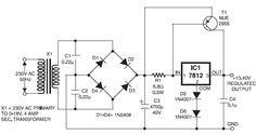 Power Supply for Walkie-Talkies