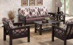 Resultado de imagen de sofa design in wood