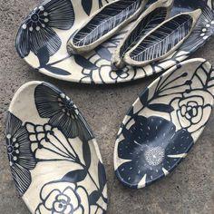 Hope your day is adventurous! Ceramic Decor, Ceramic Pottery, Ceramic Art, 3d Studio, Clay Ornaments, Sgraffito, Ceramic Jewelry, Happy Saturday, Carving