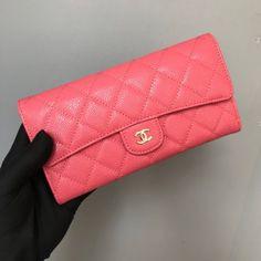 e931985de9021d Chanel A80758-3 Quilted Long Flap Wallet