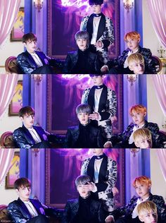Jungkook, Suga, JHope e V para Full Álbum 'WINGS' - BTS ❤