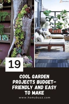 19 Cool Garden Projects Budget-Friendly and Easy to Make - HomyBuzz