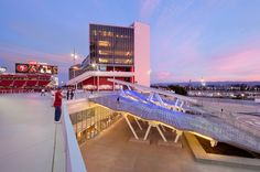 Completed in 2014 in Santa Clara, United States. Images by Jim Simmons, Alise O'Brien. The San Francisco 49ers' new 69,000-seat stadium is a sports and entertainment destination that can accommodate a wide range of events such as the...