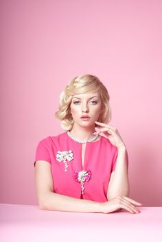 Brooch and jewellery by House of April, casual luxury