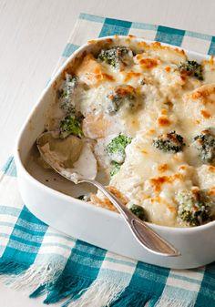 Chicken & Broccoli Rice Bake