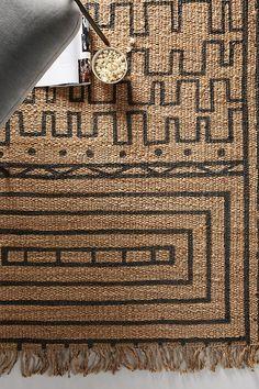 Leila Jute Rug - Best Rugs - Ideas of Best Rugs - Leila Jute Rug by Anthropologie in Grey Rugs Burlap Rug, Jute Rug, Jute Carpet, Rugs On Carpet, Hanging Furniture, Plywood Furniture, Modern Furniture, Furniture Design, Area Rug Placement