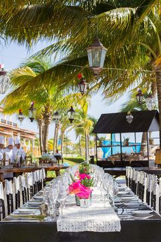 Your guests will love the beauty that surrounds them at the reception. #SecretsCapri