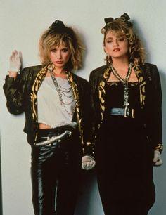 """Desperately Seeking Susan"" Madonna and Rosanna Arquette"