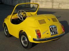 Post with 1038 votes and 54984 views. Shared by Iminlovewithafoxfairy. IDGAF about your upvotes. I only uploaded these for upvotes. Beach Cars, Microcar, Fiat Cars, Fiat Abarth, Cabriolet, Weird Cars, Cute Cars, Small Cars, Car Humor