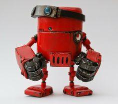Robotic Minion, 4-5 in.