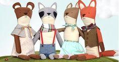 Gorgeous animal dolls