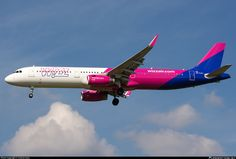HA-LXJ Wizz Air Airbus A321-231(WL)