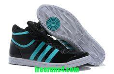 adidas Top Ten Hi Sleek W schoenen wit lila blauw