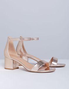 f2dd6284ee3a Low Block Heel Sandal Low Block Heel Sandal
