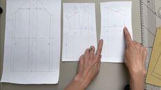 Bag Patterns To Sew, Pdf Sewing Patterns, Dress Patterns, Pattern Cutting, Pattern Making, Sewing Lessons, Pattern Drafting, Fashion Sewing, Wedding