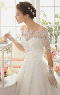 Aire Barcelona 2015 Bridal Collection - Part 2 - Belle the Magazine . The Wedding Blog For The Sophisticated Bride