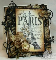 I Love Paris by suzannejdean - Cards and Paper Crafts at Splitcoaststampers