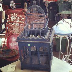 #Old blue #birdhouse